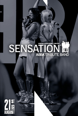 LIVE on stage – Sensation (Abba Tribute)