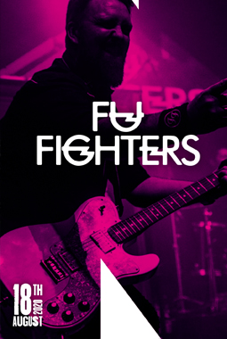 LIVE on stage – Fu Fighters (Foo Fighters Tribute)