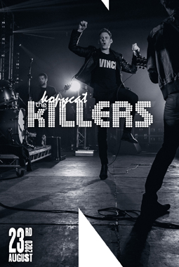 LIVE on stage - The Kopycat Killers (The Killers Tribute)