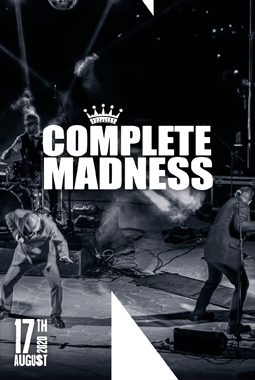 LIVE on stage – Complete Madness (Madness Tribute)